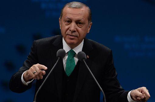 Erdogan will sich Nazi-Vergleiche nicht verbieten lassen