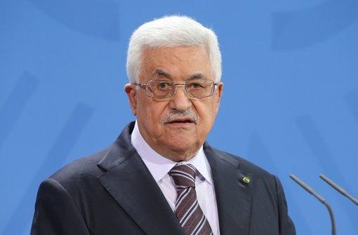 Palästinenser wollen Israel anklagen