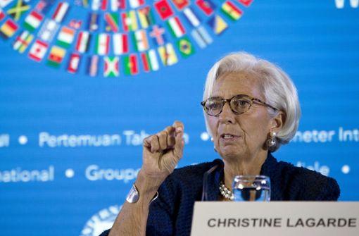 IWF-Chefin Lagarde erteilt Trump Abfuhr