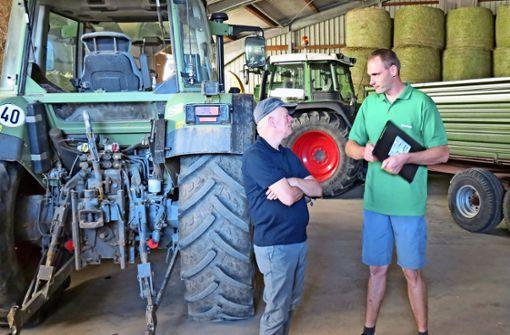 Bauern klagen dem Oberbürgermeister ihr Leid
