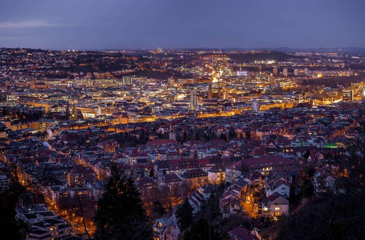Ein Blick auf Stuttgart Foto: 7aktuell.de/Dyhringer