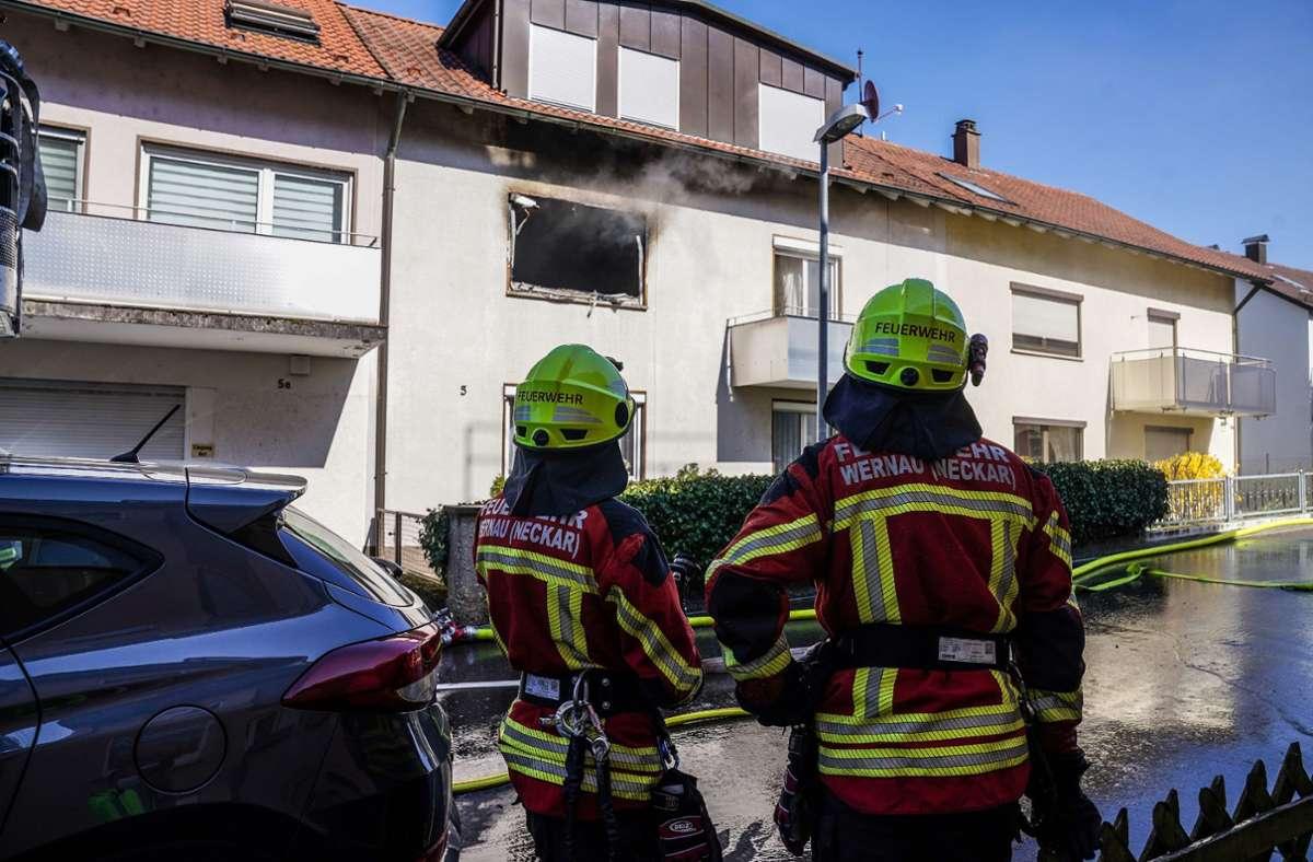 Die Wohnung, in der das Feuer ausbrach, brannte vollständig aus. Foto: SDMG/SDMG / Kohls