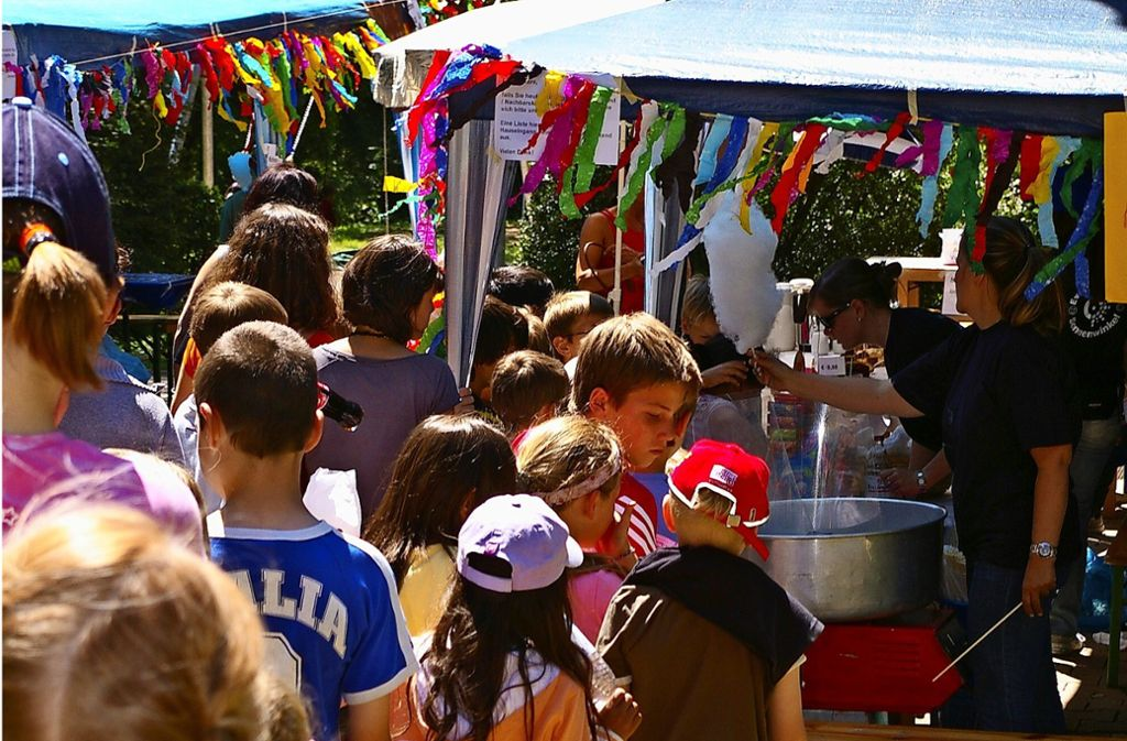 Fröhliches Gedränge im Sonnenwinkel vor der Corona-Pandemie Foto: Alexandra