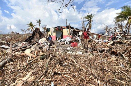 Haiti zittert vor der Cholera