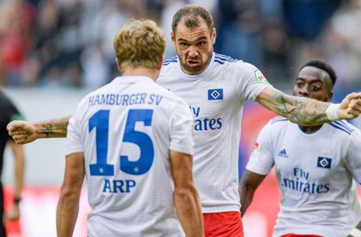 HSV siegt dank Pierre-Michel Lasogga – Fürth Tabellenführer