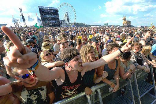 Feierlaune bei Festivals