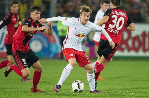 Tabellenführer RB Leipzig siegt gegen den SC Freiburg