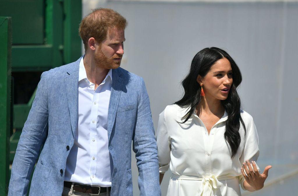 Prinz Harry und Herzogin Meghan feiern Weihnachten dieses Jahr nicht bei der Queen. Foto: dpa/Dominic Lipinski