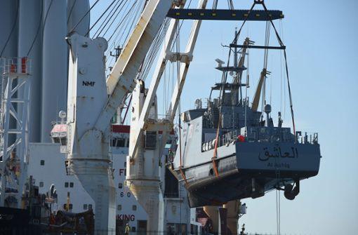 Annäherung im Streit um Rüstungsexporte