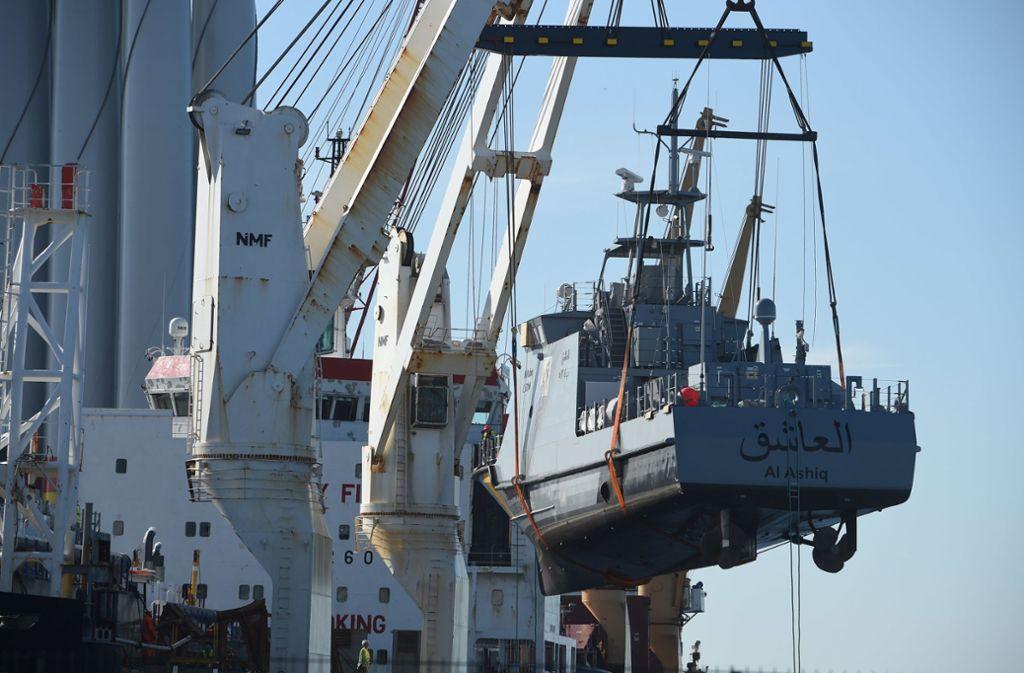 Saudi-Arabien ist Kriegspartei im Jemen. Die SPD will daher die Lieferung weiterer Patrouillenboote für nochmals sechs Monate aussetzen. Foto: ZB