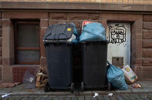 Der Müll soll liegen bleiben