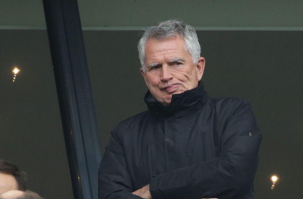 Steht in der Kritik: Möglicherweise wird der VfB-Aufsichtsrat am Mittwoch auch über die Zukunft von Wolfgang Dietrich unterhalten. Foto: Pressefoto Baumann