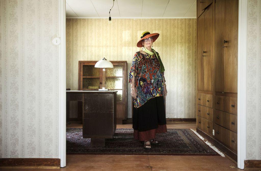 Das Arbeitszimmer durfte Marielouise Ertle einst nur betreten, wenn es ihr Vater  ausdrücklich erlaubt hatte. Foto: Andreas Reiner