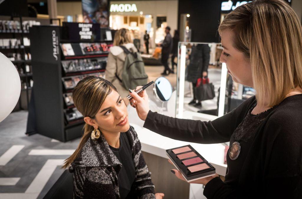 Der Kosmetikhändler Notino hat im Gerber am Freitag neu eröffnet. Foto: Lichtgut/Achim Zweygarth