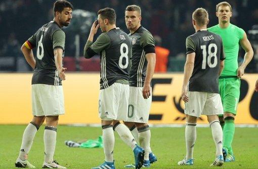 Umstellungen in der DFB-Elf geplant