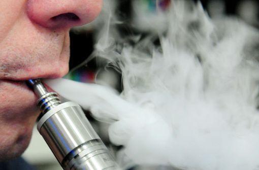 E-Zigaretten erhöhen Risiko für Lungenkrankheiten