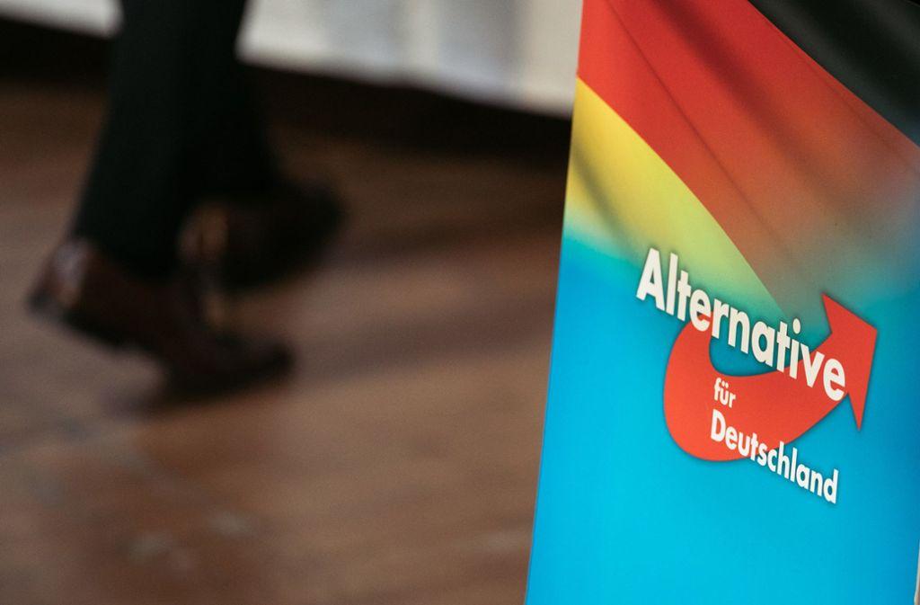 In Düsseldorf wurden Räumlichkeiten der AfD durchsucht. Foto: dpa