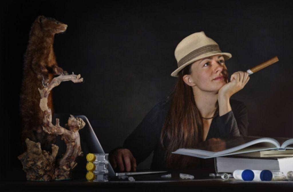 Die Wissenschaftlerin Annelie Wendeberg hat als Schriftstellerin ganz schön was zusammengeköchelt . Foto: André Künzelmann