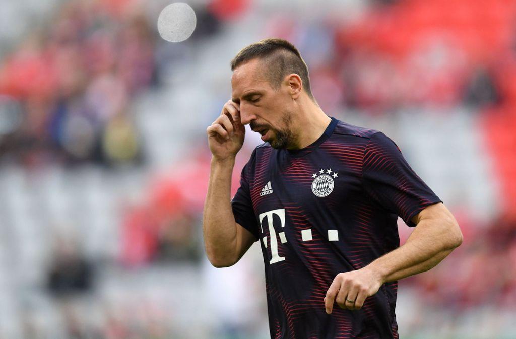 Nach seiner aktives Karriere soll Franck Ribery zum FC Bayern München zurückkehren und eine nicht genauer definierte Funktion einnehmen. Foto: AFP