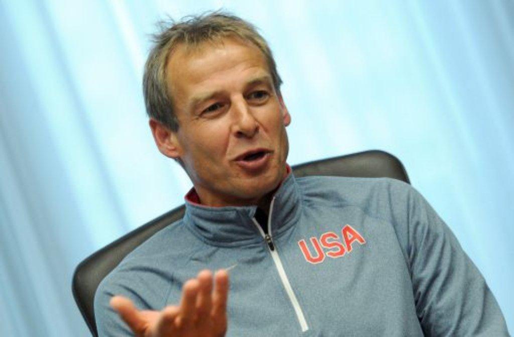 US-Nationalcoach Jürgen Klinsmann Foto: dpa