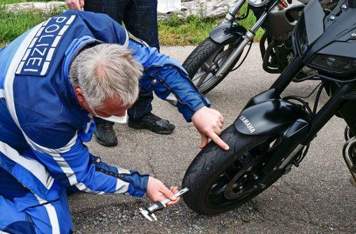 Polizei schaut bei Bikern genau hin
