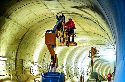 Tunnel der SSB werden später fertig