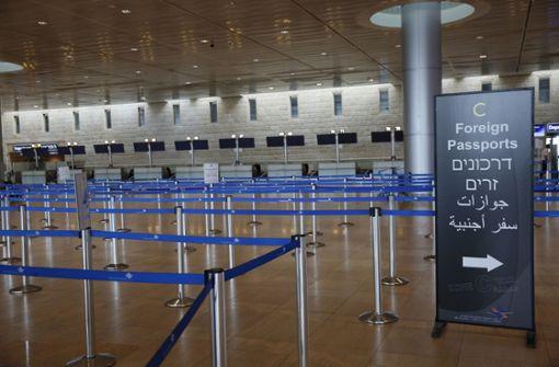Israel sperrt alle Touristen aus