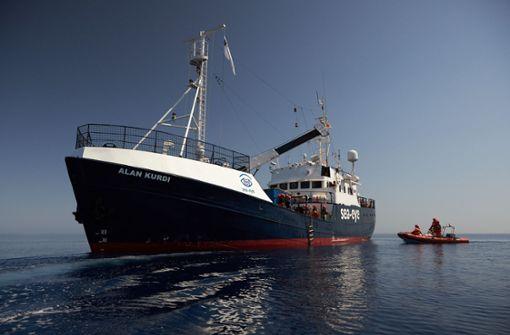 """Malta nimmt Migranten von Rettungsschiff """"Alan Kurdi"""" zunächst auf"""
