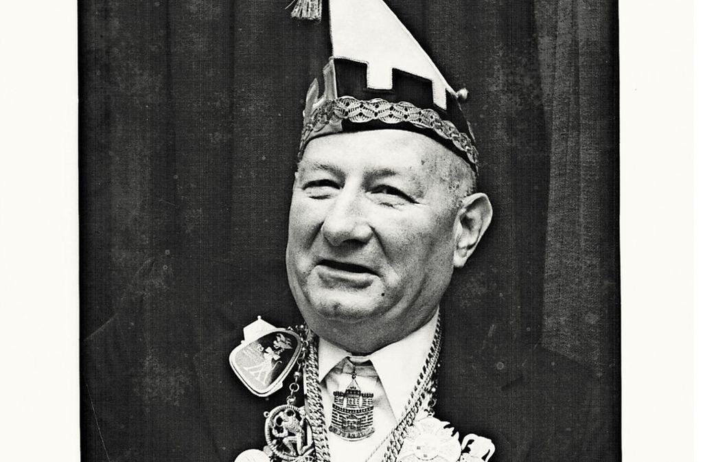 Vor dem Krieg NS-Propagandaredner, nach dem Krieg reich dekorierter Fasnachter: Willi Hermann Foto: NG Niederburg