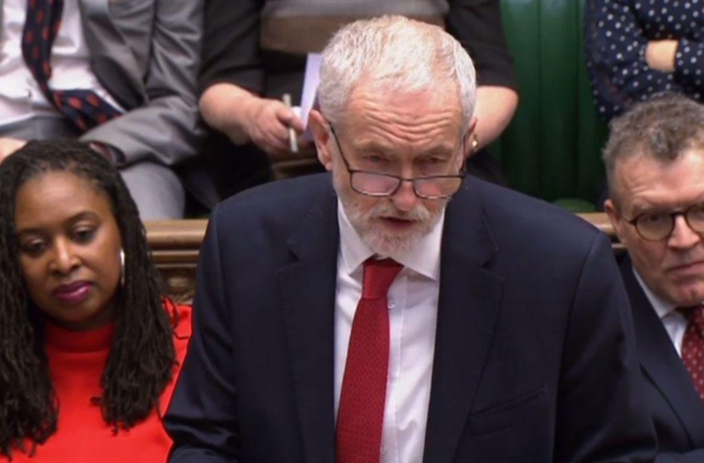 Jeremy Corbyn – wird er jetzt zur Schlüsselfigur des Brexit-Pokers? Foto: AFP