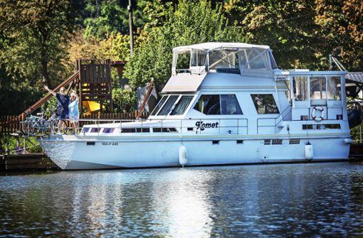 Mit dem Traumschiff auf dem Neckar