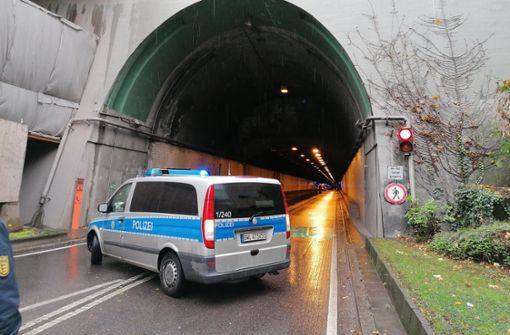 Wagenburgtunnel war nach Auffahrunfall gesperrt