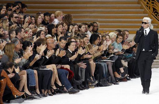 Die Pariser Modewoche beginnt ohne Karl Lagerfeld