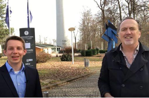 Friedrich Haag von der FDP   im Videointerview