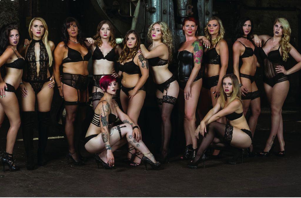Zwölf Frauen ohne klassische Modelmaße haben an dem Projekt teilgenommen. Foto: Steffen Wittig Photography & Partner