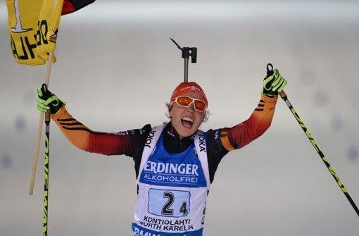 Biathlon-Frauen sind Weltmeister