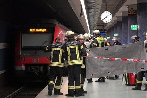 40-Jähriger überlebt Sturz vor S-Bahn