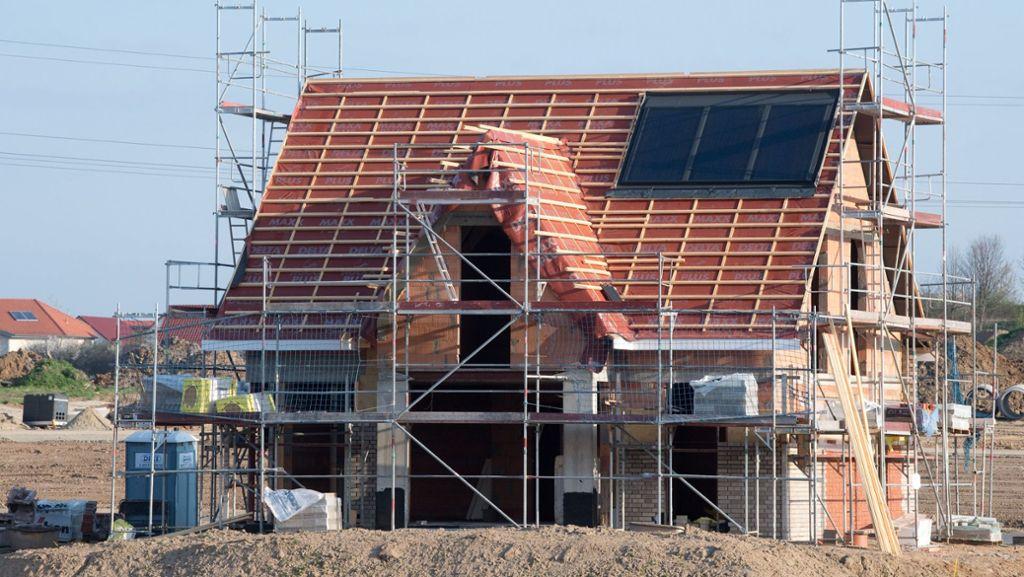 Negative Zinsen für  Baudarlehen  rücken näher