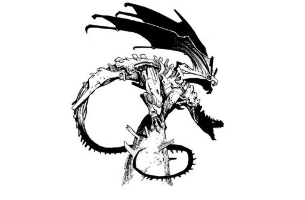 Felix Mertikats Logo für die Dragon Days Foto: Dragon Days