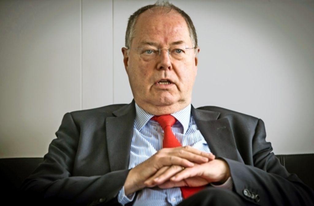Der Ex-SPD-Finanzminister scheut keine  polarisierenden Thesen. Foto: Lichtgut/Achim Zweygarth