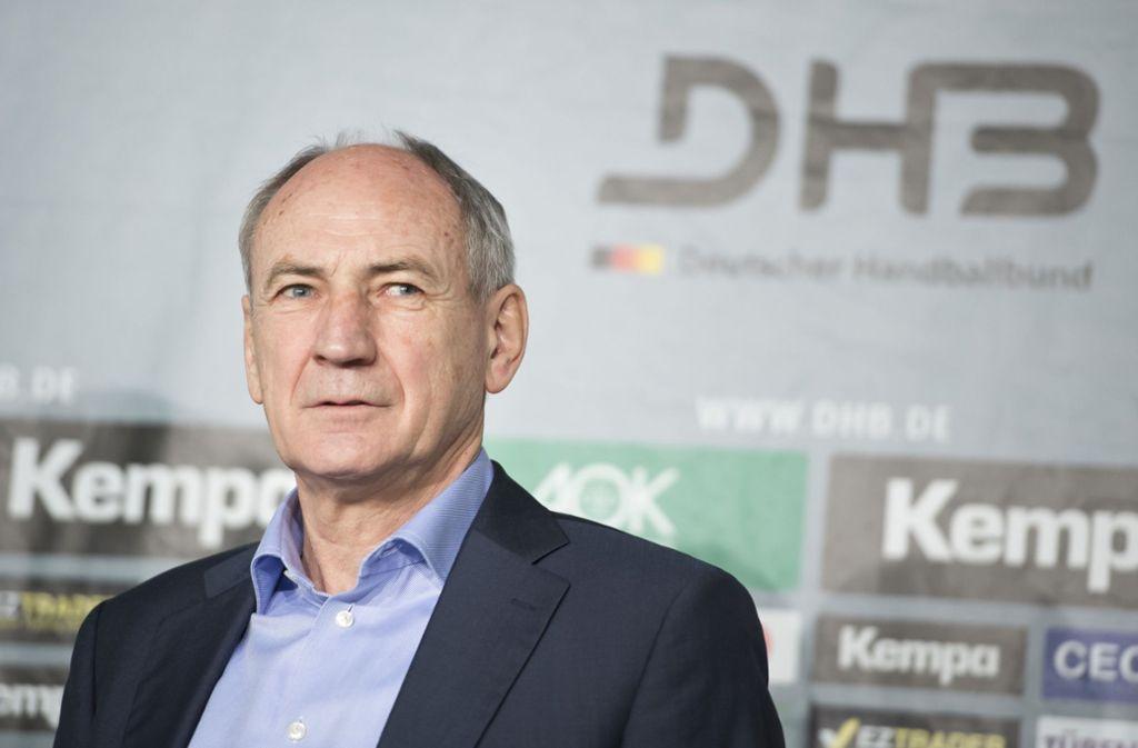 """Ex-DHB-Chef Bauer: """"Wer geglaubt  hat, der Bundestrainer-Wechsel würde ohne Brüche abgehen, war blauäugig."""" Foto: dpa"""