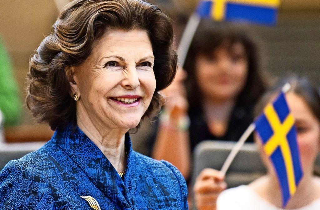"""Für Königin Silvia ist Merkels """"Wir schaffen das"""" eine christliche Botschaft Foto: dpa"""