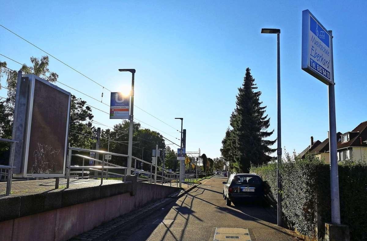 Die Pforzheimer Straße in Weilimdorf Foto: Marta Popowska