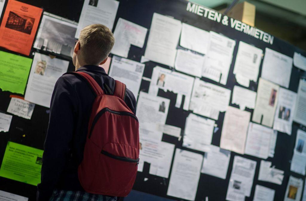 Auch bei den Studentenwerken sieht der Rechnungshof Sparmöglichkeiten Foto: dpa
