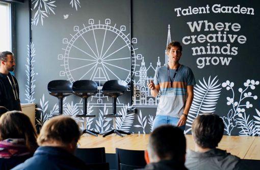 Start-up-Wettlauf in Europa wird härter