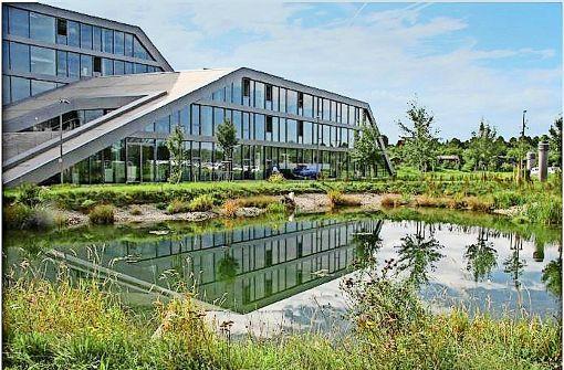 Firmengärten ausgezeichnet: Wildnis mit Biotop gewinnt