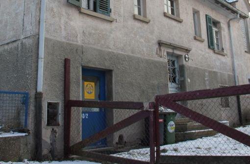 Das Gebäude Himmerreichstraße 40/2 soll  abgerissen werden. Quelle: Unbekannt