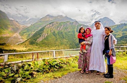 Nach der  Gipfeltour  im     Ali Baba einkehren