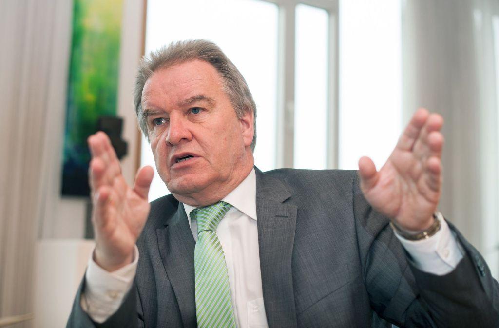 Landesumweltminister Franz Untersteller (Grüne) Foto: dpa