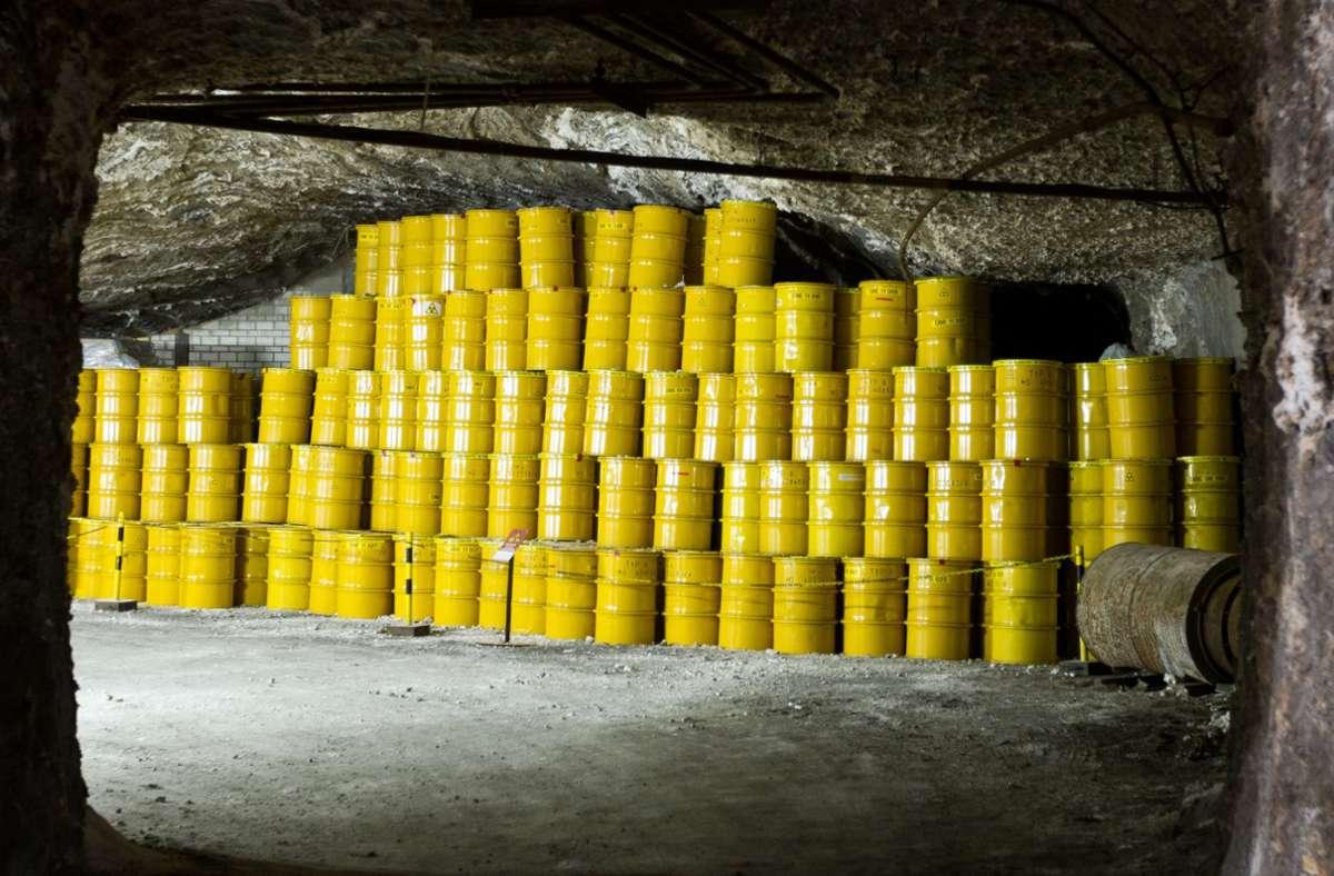 Wohin mit dem Atommüll? Foto: dpa/Jens Wolf